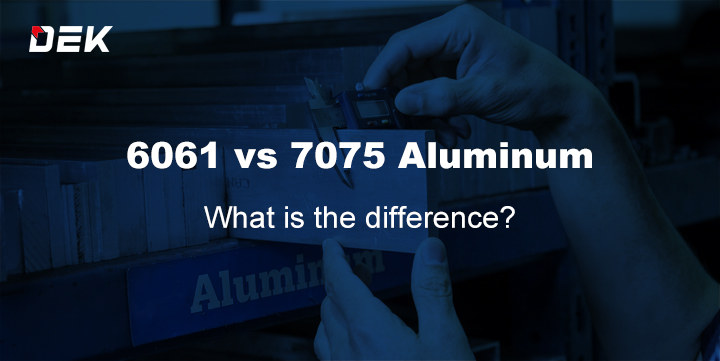 6061 vs 7075 aluminum, what is the difference