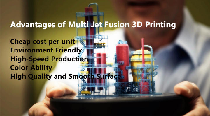 Advantages of Multi Jet Fusion 3D Printing