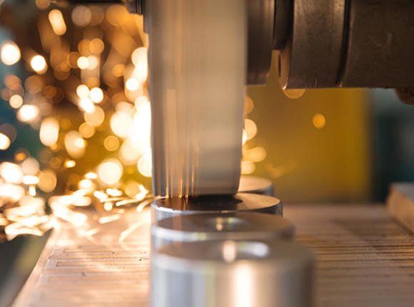 Aluminum surface grinding services for any size