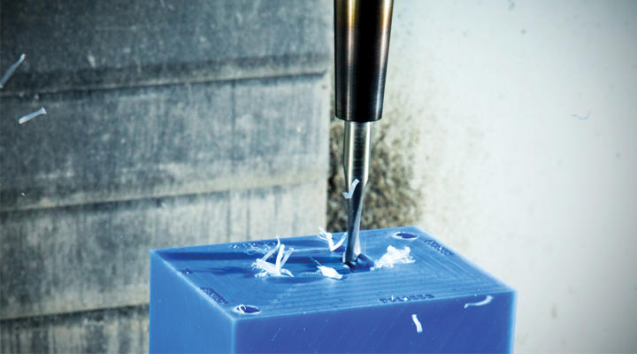 Are large quantities suitable for CNC milling plastic