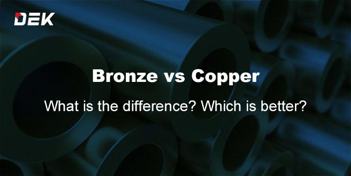 Bronze Vs Copper