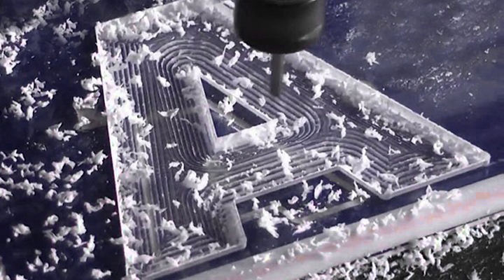 CNC Milling Acrylic