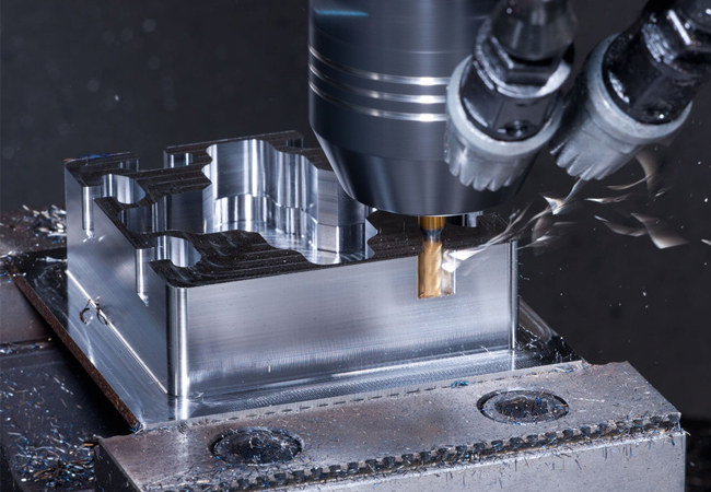 CNC milling aerospace machining