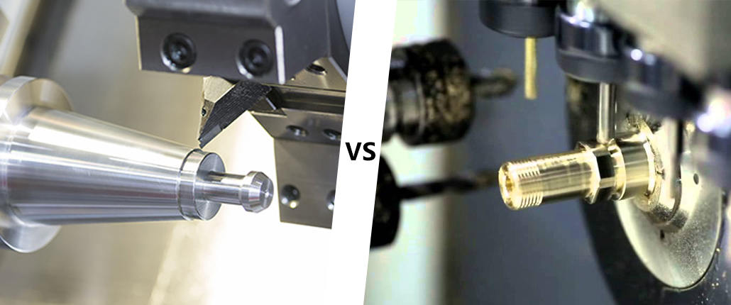 CNC turning And Swiss turning, Which Is Better?