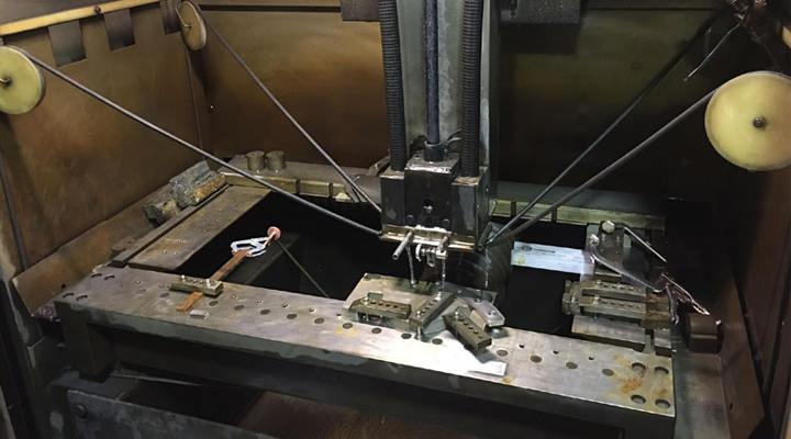 Can Wire EDM Machine Brass