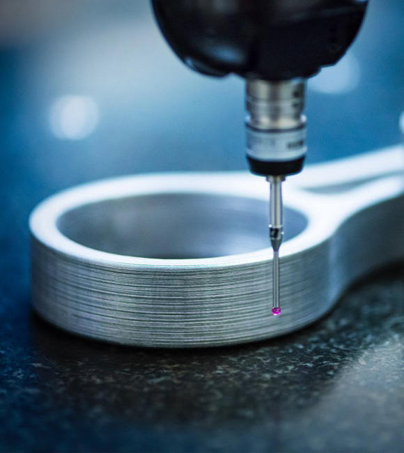 DEK employs advanced machining systems and processes for metal prototyping