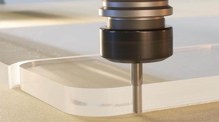 Does DEK offer Acrylic CNC Milling services