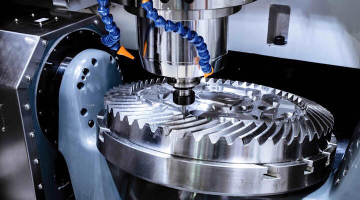 Does DEK offer custom parts machining services