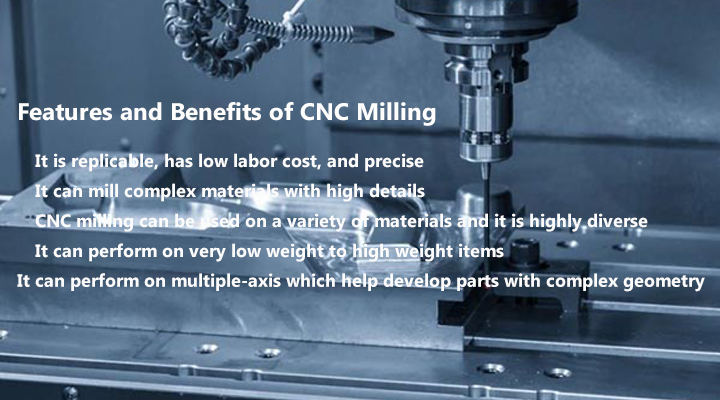 Features and Benefits of CNC Milling