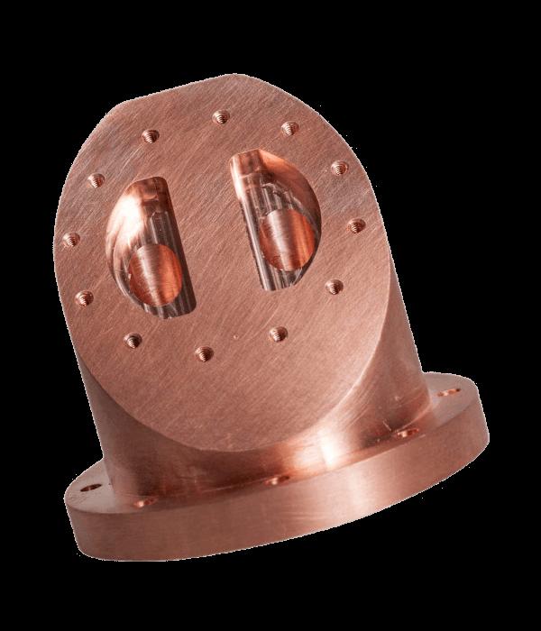 Finest CNC Milling Copper Services for your parts