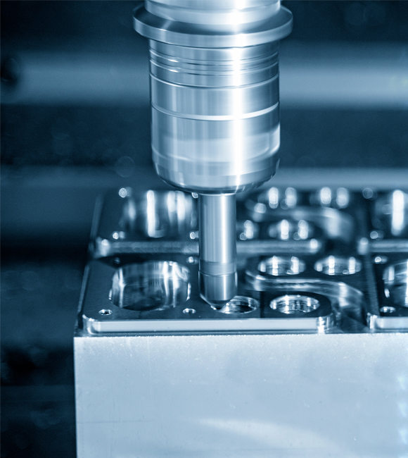 High-quality machined parts manufacturer with the availability of a wide range of raw materials