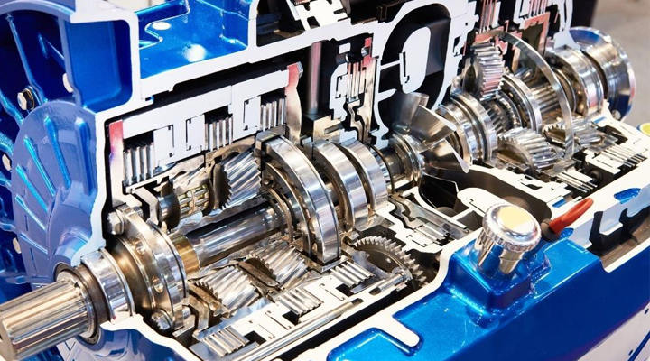 How does a transmission shaft work