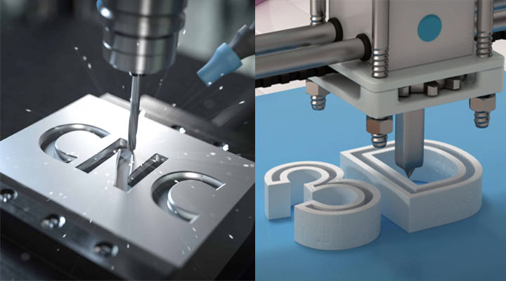 Is CNC Prototyping The Same As 3D Printing