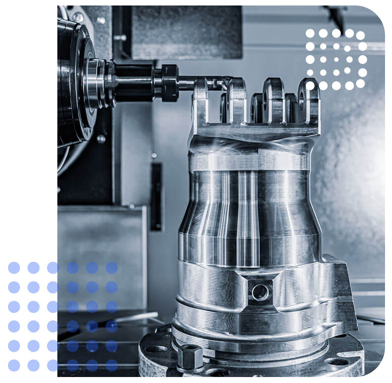 On demand manufacturing machining services