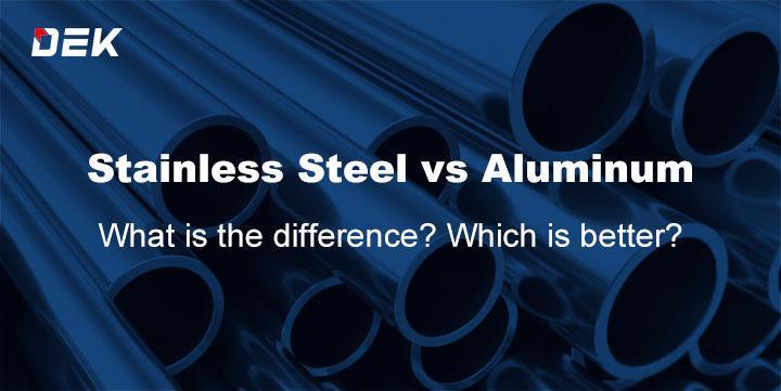 Stainless Steel vs Aluminum