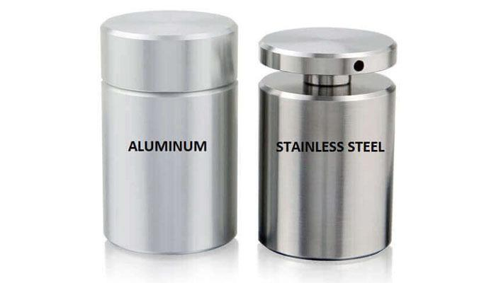 Stainless Steel vs Aluminum-color