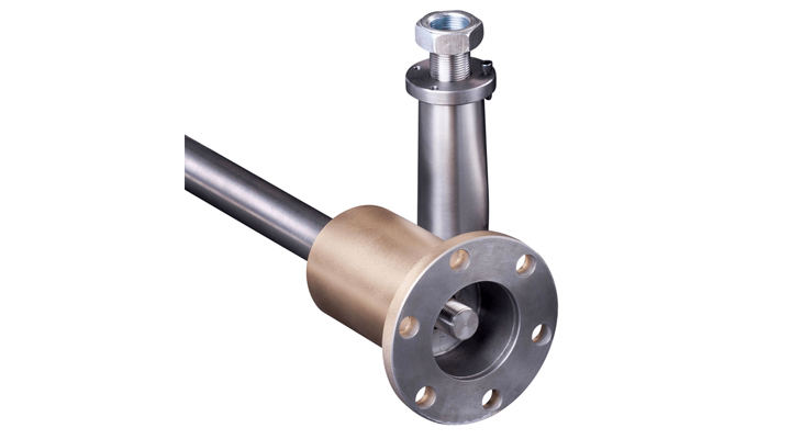 Tapered propeller shaft coupling