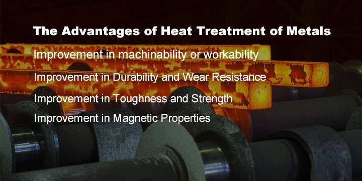 The Advantages of Heat Treatment of Metals