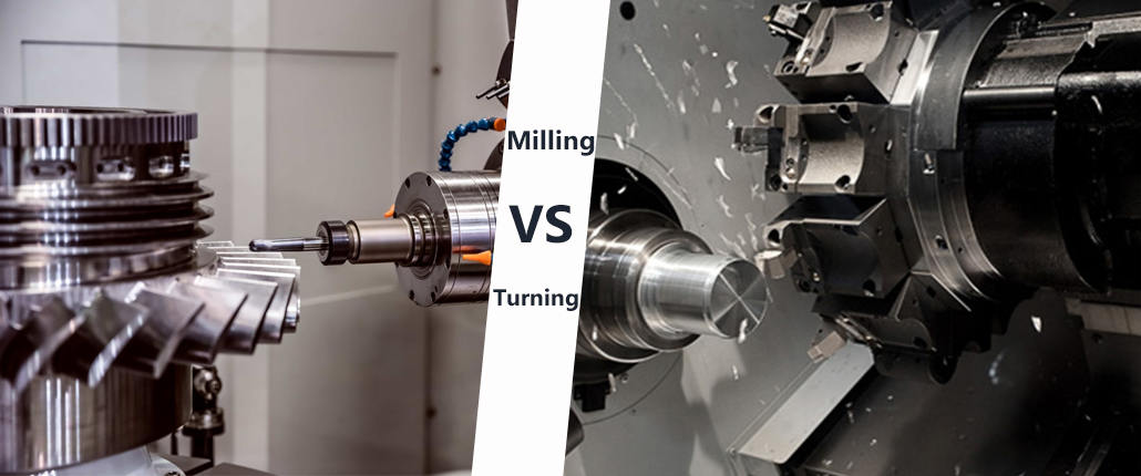 The Difference Between CNC Milling and CNC Turning
