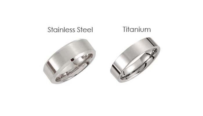 Titanium vs Stainless Steel-color