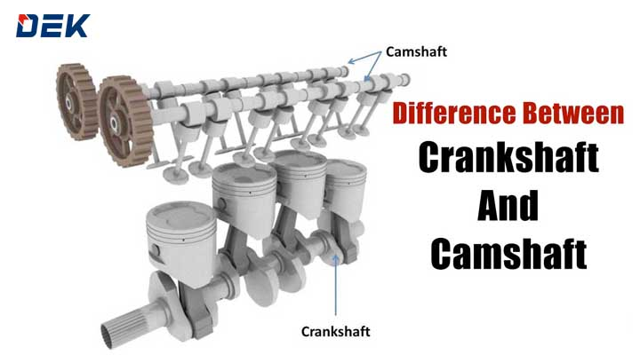 What Are the Differences Between a Crankshaft and a Camshaft