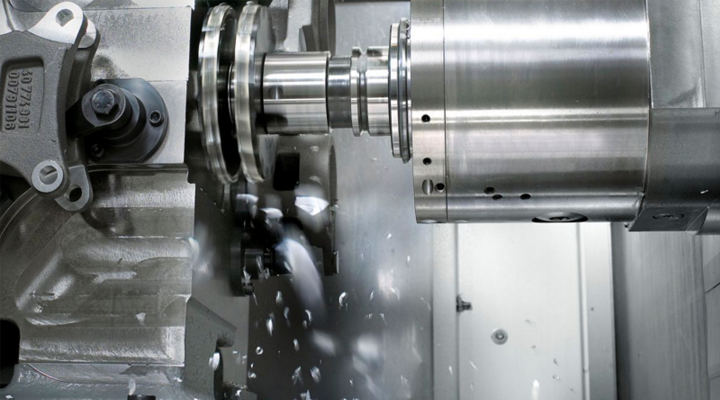 What is 4-Axis Vertical and Horizontal CNC Machining