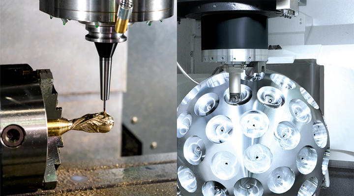 What is the Difference Between 4-Axis CNC and 5-Axis CNC Machining