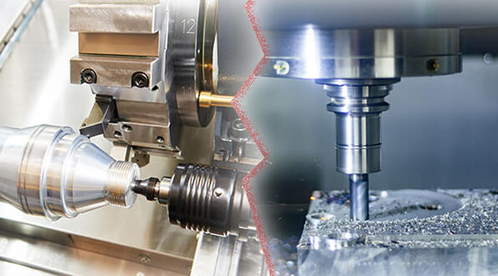 What is the Difference Between CNC Turned Parts and CNC Milled Parts