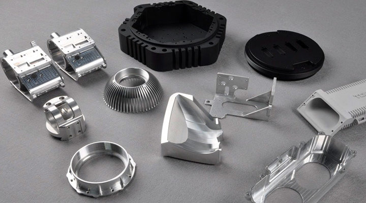 What materials can be used in custom parts machining