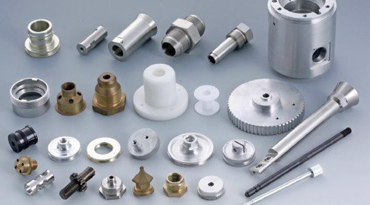 What materials do manufacturers usually use to machined parts