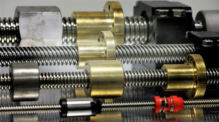 Where Are Screw Shafts Used