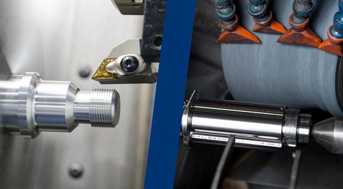 cnc Turning vs grinding