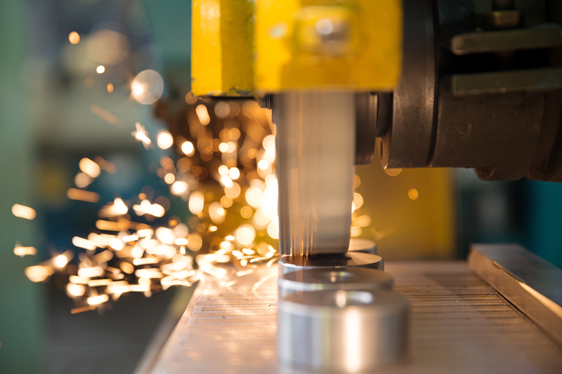 metal surface grinding